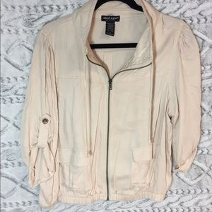 About a girl zip up jacket XL